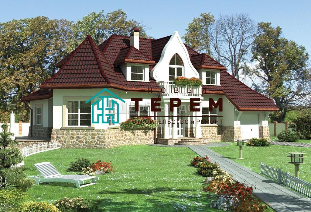Проект дома 18,1×11,5 м. с мансардной крышей