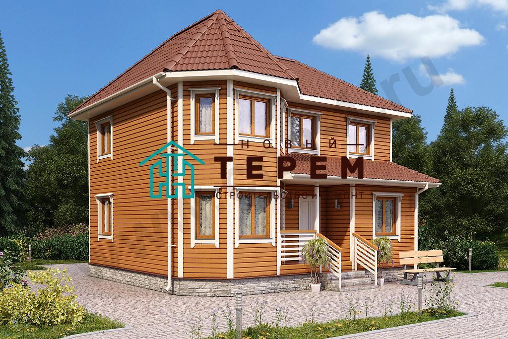 Иртыш-К (Дом 8х9м каркасный, толщина каркаса 150 мм)