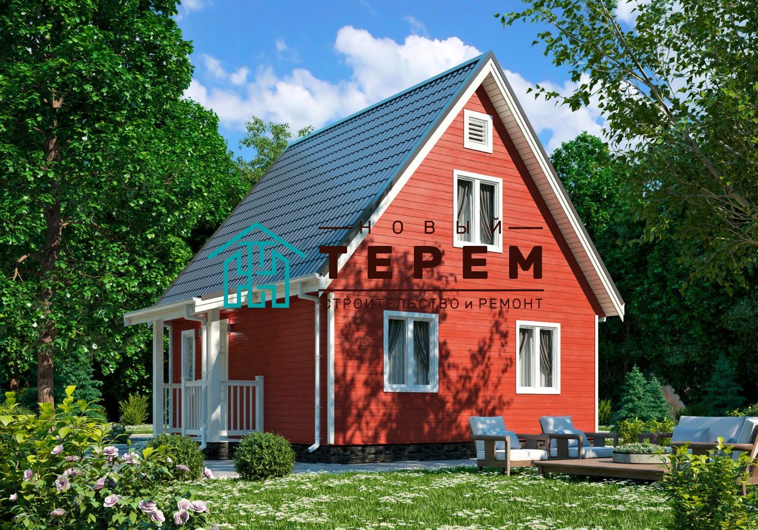 Ока-К (Дом каркасный 6×6м)