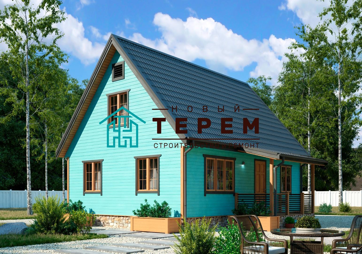 Печора-К (Дом каркасный 6×9м)