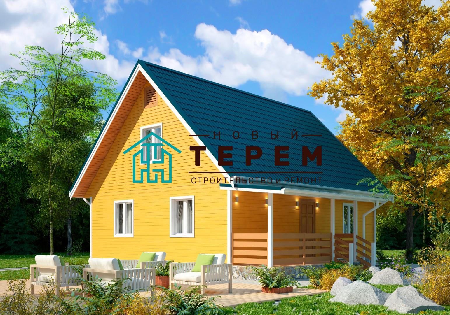 Терек-9К (Дом каркасный 7×9м)