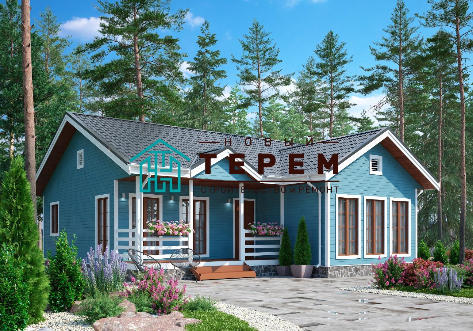 Яхрома-К (Дом каркасный 11х10 м одноэтажный)