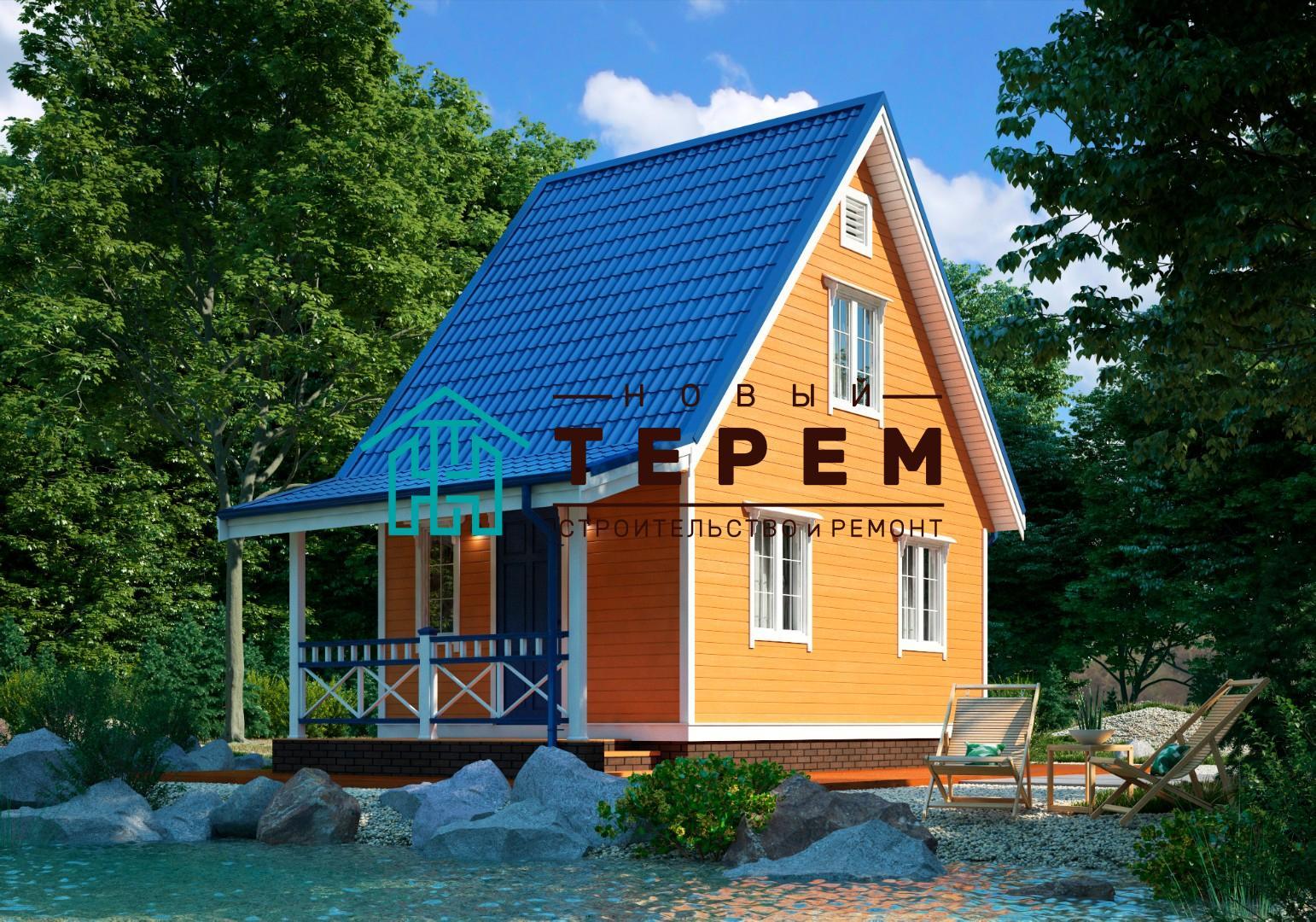 Вятка-К (Дом каркасный 6×4м)